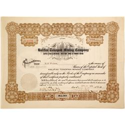 Halifax Tonopah Mining Company  #91038