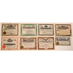 Misc. Nevada Stock Certificates- Mostly Mining  #110212