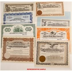 Nevada Mining Stock Collection  #79302