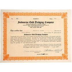 Submarine Gold Dredging Company  #91028