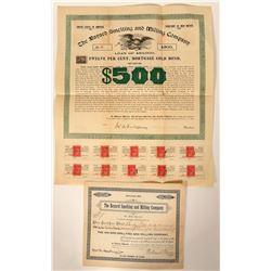 Bayard Smelting and Milling Company Stock and Bond  #90535
