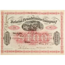 Bristol Franklinite Company Stock  #81906