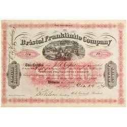 Bristol Franklinite Company Stock  #81906