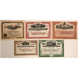 Bingham, Utah Stock Certificates- Group 1  #110089
