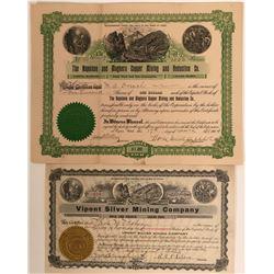Two Mining Stocks from Box Elder County, Utah  #110129