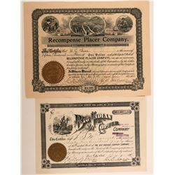 Two Great Stocks Incl. Indian on Horseback. San Juan County, Utah  #110123