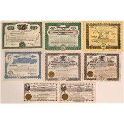 Nice Group of Utah Uranium Stocks- Some Rare  #110114