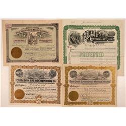 Four Different Snohomish County, Washington Mining Stocks  #107646
