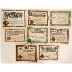 Northwest Washington (and one Oregon) Stock Certificates  #109084