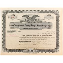 Alaska Transportation, Trading, Mining & Manuf. Co  #83626