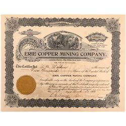 Erie Copper Mining Co   #106206