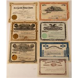 Miscellaneous Western Mining Stock Group  #107628