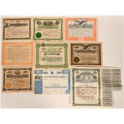 Nine United States Mining Stocks  #109083