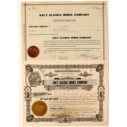 Saly Alaska Mines Company  #83657