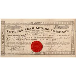 Tuttles Peak Mining Co  #106207