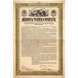 Arizona Water Company Bond  #86026