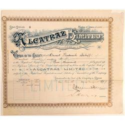 Alcatraz Asphalt # 2: Alcatraz Limited - an English Stock  #103549