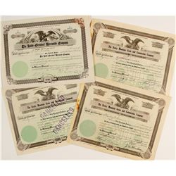 Rocky Mountain Grain & Commission Co. Stock Certificates Plus One Other CO Stock  #60011