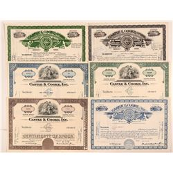 Castle & Cooke, Ltd. Stock Certificate Collection  #107290