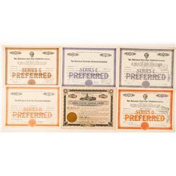 Hawaii Electric Companies Stock Certificates  #101521