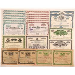 Hawaii Stock Certificate Group  #107295