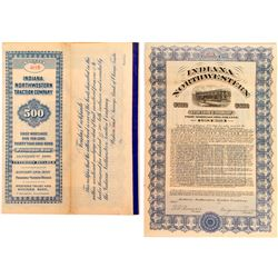 Indiana Northwestern Traction Company Bond coupons  #52275