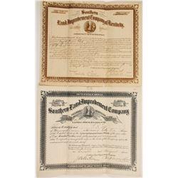 Kentucky Land Improvement Stocks (2)  #90608