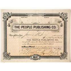 People Publishing Company Stock  #90407