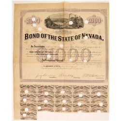 Bond of the State of Nevada  #86064