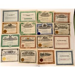 Nevada Blank Stock Certificates (30+)  #110681