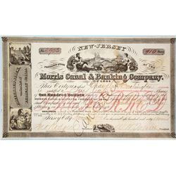 Morris Canal & Banking Company Stock Certificate  #77329