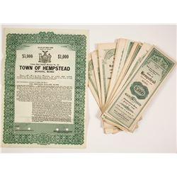 Hempstead, New York School Bonds (22)  #77321
