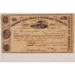 Georgia Rail Road & Banking Company  #105717