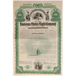 Louisiana Electric Light Company bond  #106440