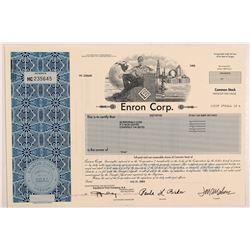 Enron Corp stock  #106315