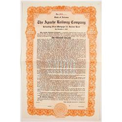 Apache Railroad Co Bond  #83219