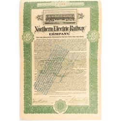 Northern Electric Railway Company Bond  #52342