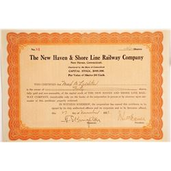 The New Haven & Shore Line Railway Co  #87019