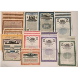 Chicago, ILL Railroadstock/bonds  #106145