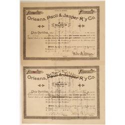 Orleans, Paoli & Jasper R'Y Co.  #106166