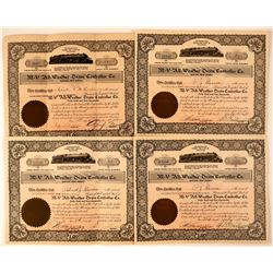 M-V All-Weather Train Controller Co. Stock Certificates  #107619