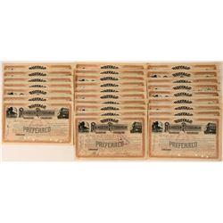 Buffalo, Rochester & Pittsburgh Railway Co. Stock Certificates (26)  #107627