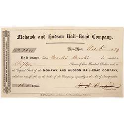 Mohawk and Hudson Rail-Road Co  #101259