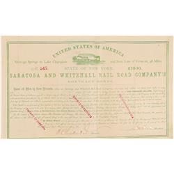 Saratoga and Whitehall Rail Road Co.'s  #105544