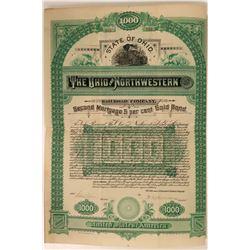 The Ohio and Northwestern Railroad Co  #106177