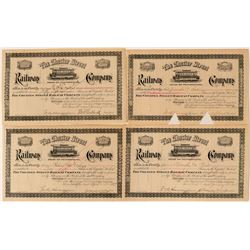 Chester Street Railway Company Stock Certificates (4)  #107618
