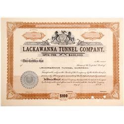 Lackawanna Tunnel Stock  #85124