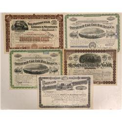 Penn, Maine and New York Railroadstocks  #108651