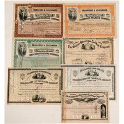 Pennsylvania Railroad Stock (7)  #106121