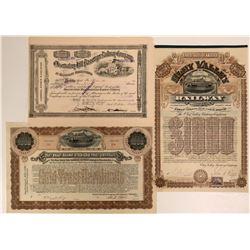 Pennsylvania Railroadstock/bond  #106172